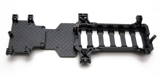 Tamiya CR-01 Toyota Land Cruiser battery tray