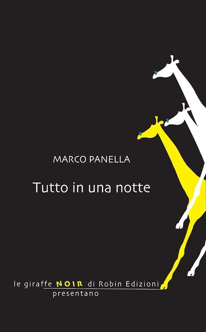Marco Panella presenta 'Tutto in una notte'
