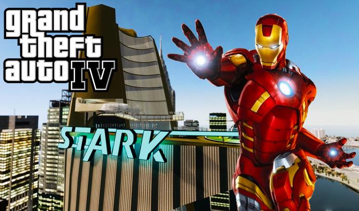 GTA 4 Iron Man Mod Download 2021 | With Stark Tower | GTA IV Mods
