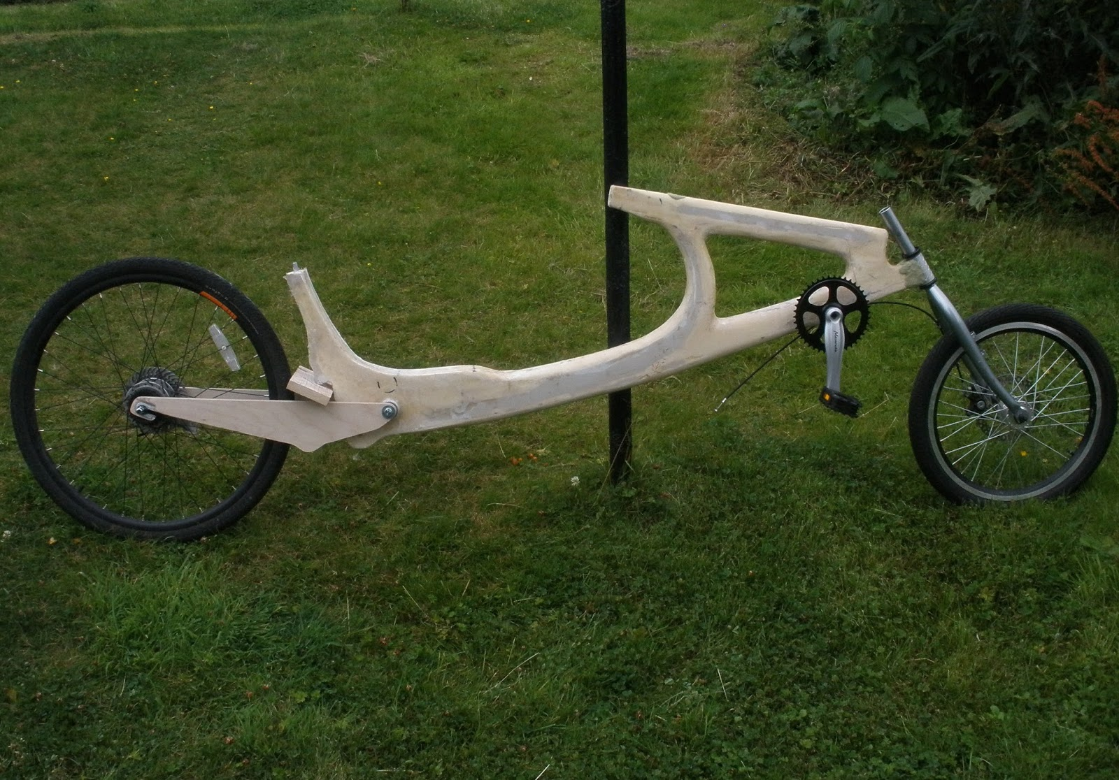 Wooden Recumbent Bike