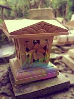 Lampion taman minimalis motif unik