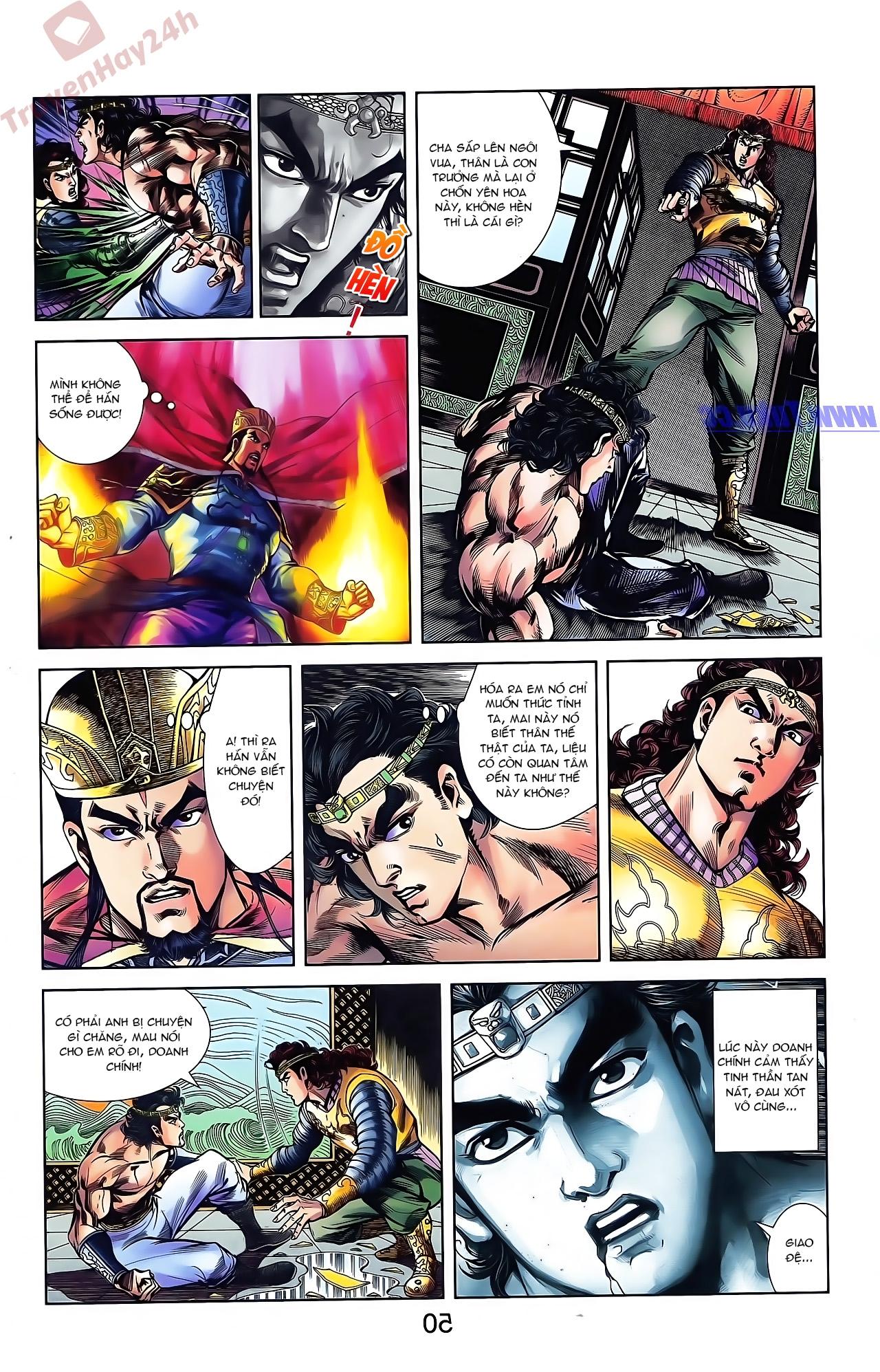 Tần Vương Doanh Chính chapter 44 trang 2