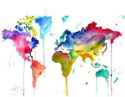 Viajar e colorir o mapa da vida...