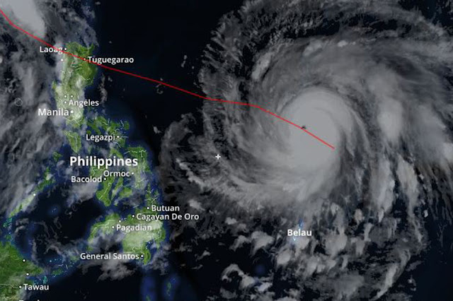 WARNING: Incoming Typhoon Lawin Might Become Super Typhoon!
