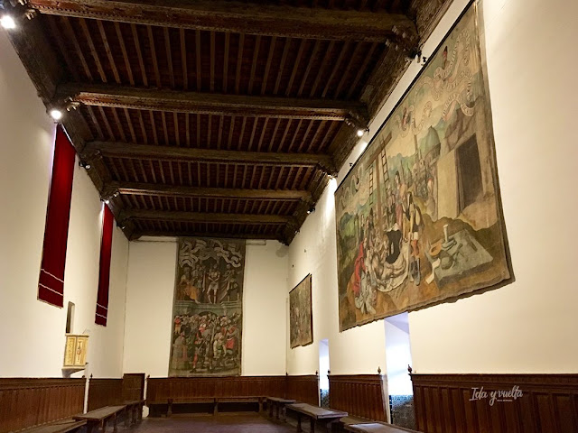 Monasterio Sancti Spiritus Toro refectorio