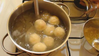 gotowanie knedli