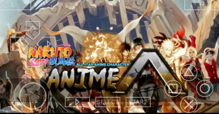 Naruto Shippuden Ultimate Ninja Impact Mod All Star Anime PPSSPP