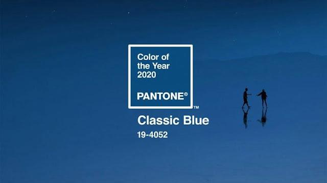 Màu sắc của năm 2020 Classic-Blue  19-4052