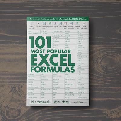 [Free ebook]101 Most Popular Excel Formulas-EVBA.info (101 Excel Series Book 2)-John Michaloudis