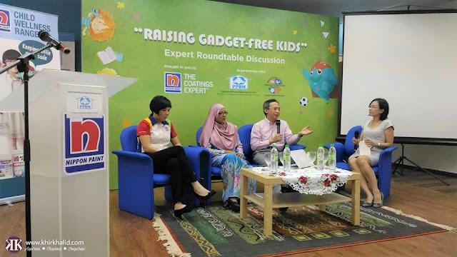 Raising Gadget-Free Kids, Norsheila Abdullah, Datuk Dr Zulkifli Ismail, Gladys Goh, Nippon Paint Malaysia,