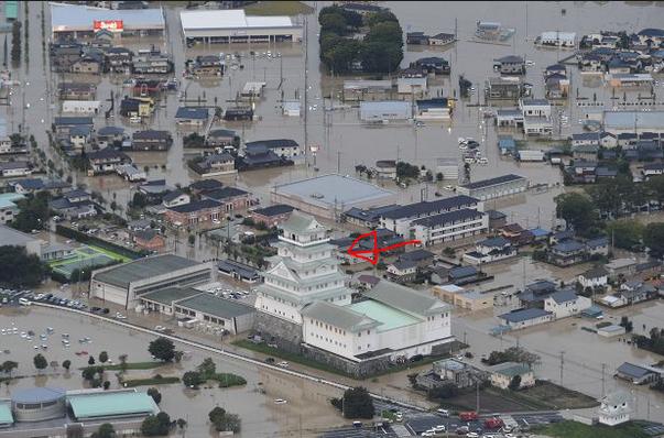 宇宙への旅立ち: 常総市鬼怒川堤防決壊は爬虫類人災害だった ...