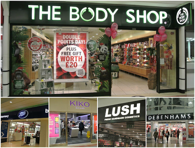 Best Places For Beauty Christmas Shopping on the High Street with The Bridges, Sunderland