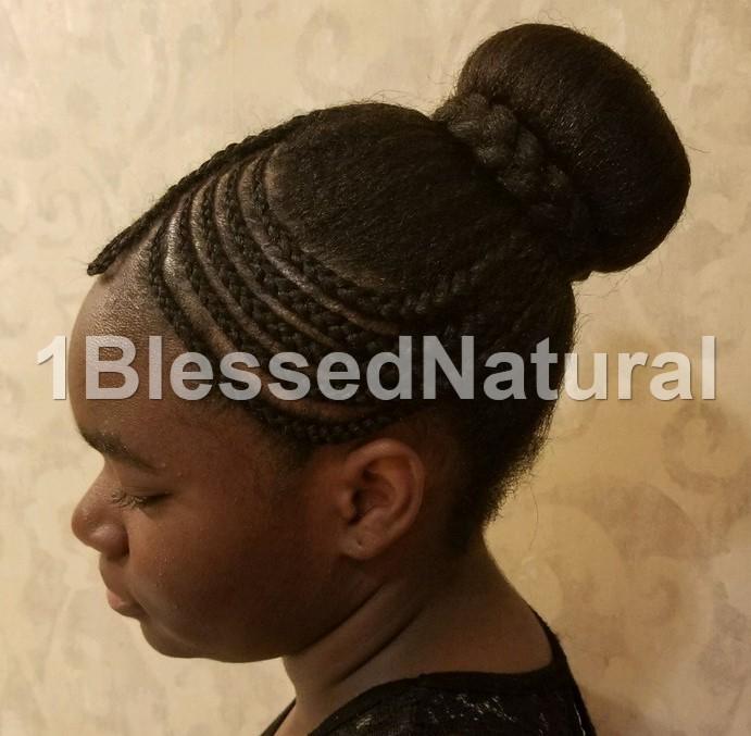 1bn Kids Little Girl Natural Hairstyles Part 2