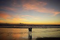 Senja Di Pantai Batu Belig Bali