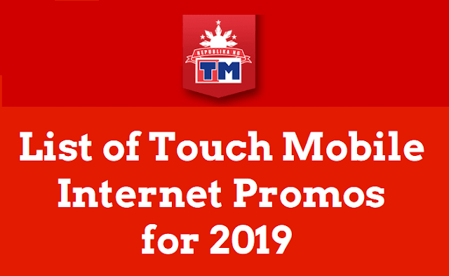 Complete List of TM Internet Promos for 2019