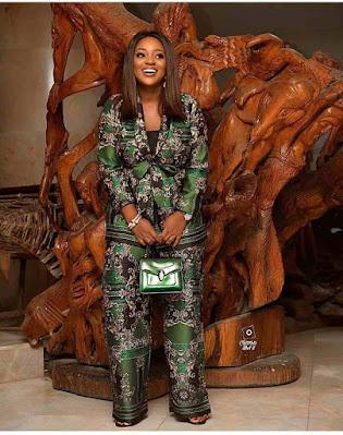 Jackie Appiah dressing