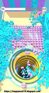 Screenshots of Color Hole 3D MOD APK 1.1.3 (Unlimited Coins) for Android