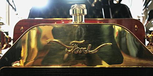 rare ford logo