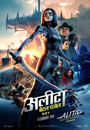 Alita Battle Angel 2019 Dual Audio Hindi HDRip 480p 450MB