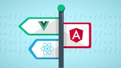 React JS, Angular & Vue JS - Quickstart & Comparison