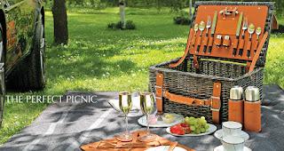 Der Picknick Korb von Aston Martin | Feinster Luxus auf der Wiese