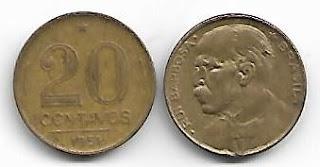 20 centavos, 1951