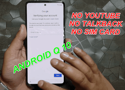 All Samsung Android Q 10.0 Google Account Bypass-FRP Remove No SimCard & No Pc.