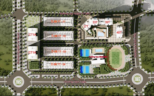 Quy hoạch dự án chung cư Hải Đăng City