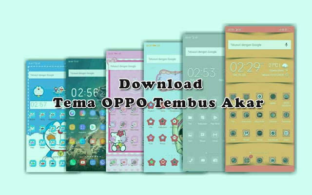 Kumpulan Tema Iphone untuk Oppo Tembus Akar  (ColorOS dan iOS) Gratis