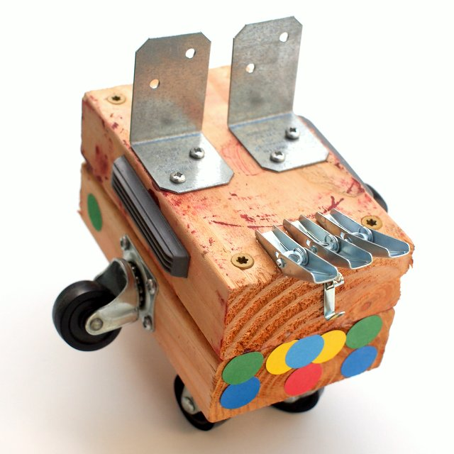 Raid your tool chest and leftover bits to build your own wooden race car- great STEM activity for kids