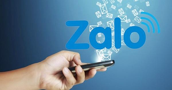Message on ZALO