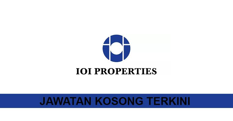 Kekosongan terkini di IOI Properties Group Berhad (Property Corporate)