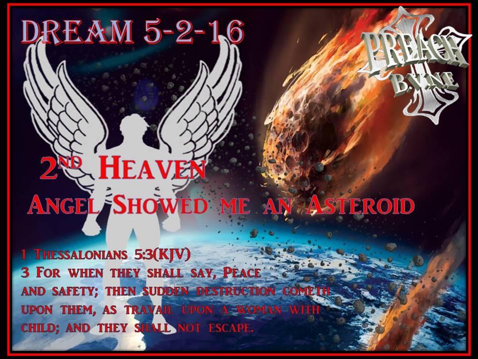 PREACH BE A VOICE NOT AN ECHO: DREAM 5- 2-16 Angel Took me