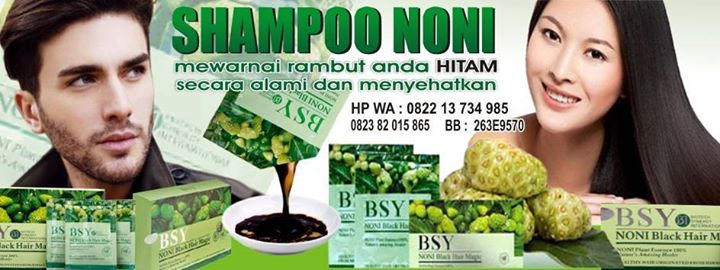 SAMPO NONI BLACK HAIR MAGIC INDONESIA