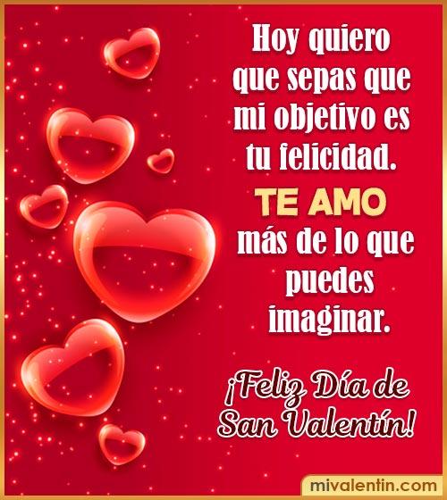 feliz día del san Valentín