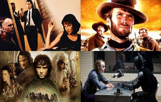 10 Film Terbaik Sepanjang Masa, Versi IMDB