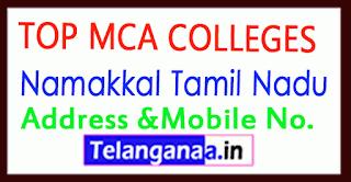 Top MCA Colleges in Namakkal Tamil Nadu
