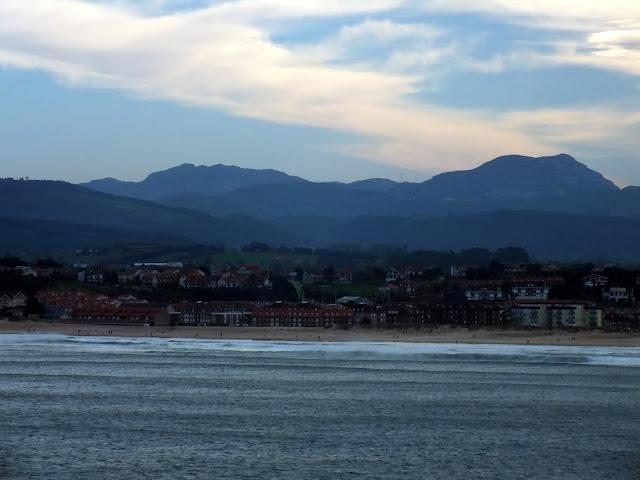Vistas desde Santander España