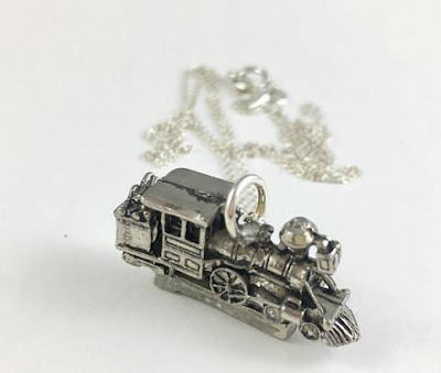 Train Necklace