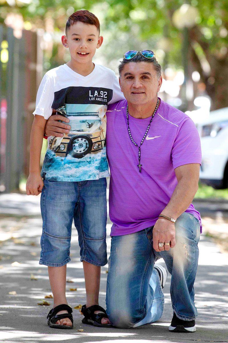 Fernando Astengo explica los singulares lazos que se dan en su familia