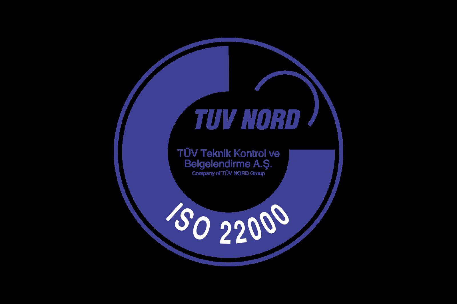 TUV Nord ISO 22000 Logo