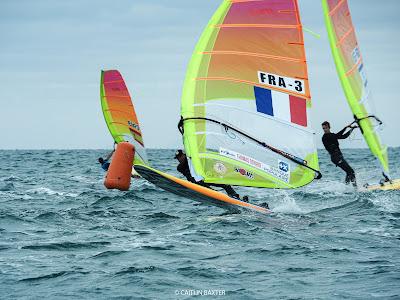 Charline Picon et Thomas Goyard sur le podium 5 mois avant les Jeux Olympiques