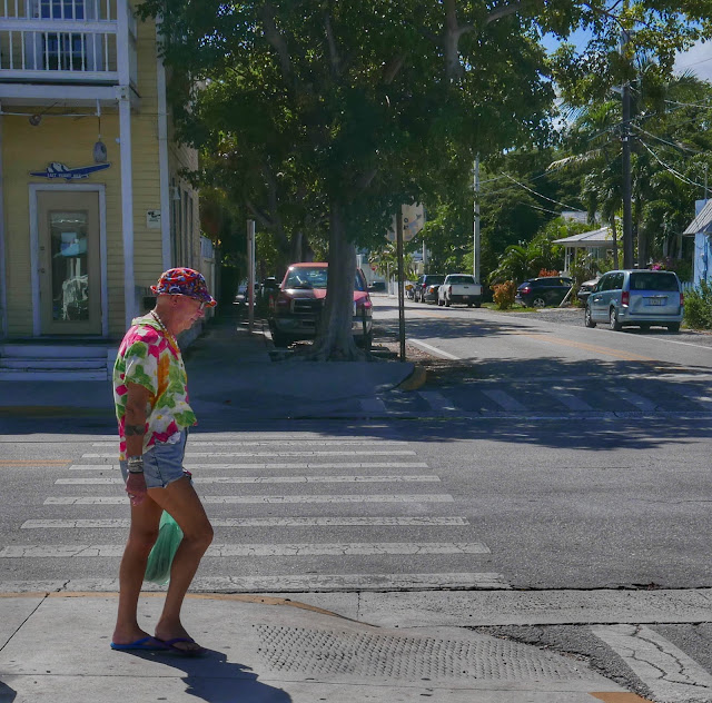 Duval Street Character