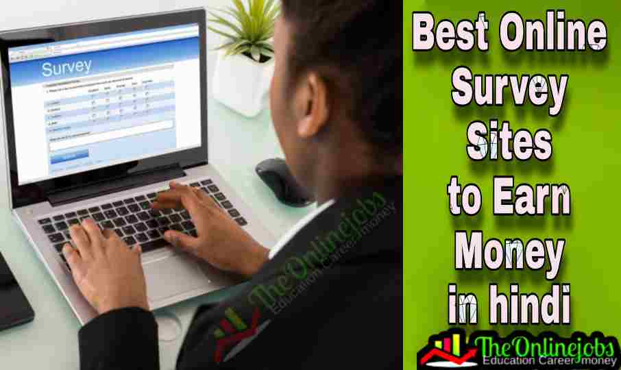 Best online survey sites to earn money