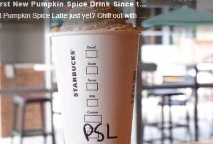 Buah Krim Labu Brews Akan Datang Ke Starbucks Esok