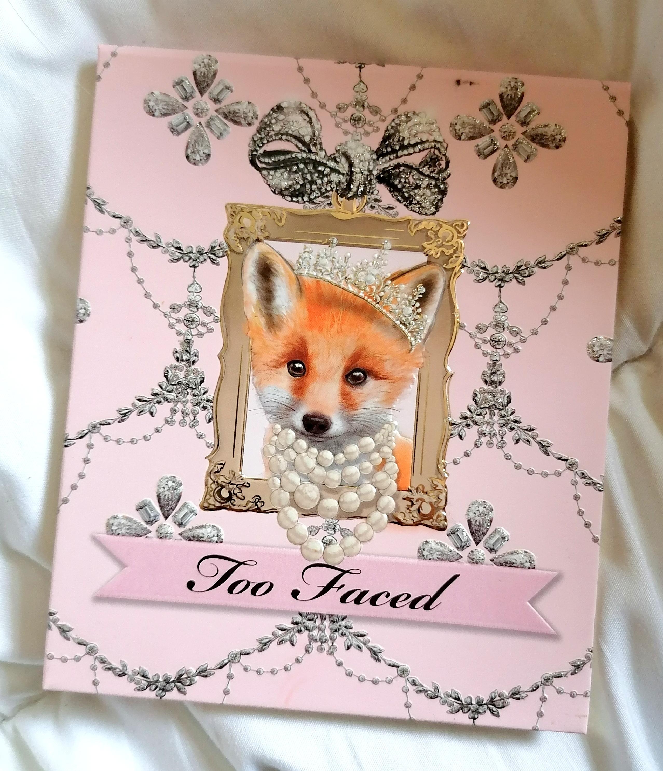 Enchanted Beauty Foxy Neutrals de TOO FACED (Noël 2020)