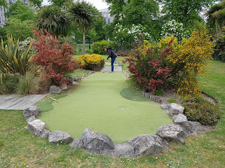 Mini Golf at East Park in Southampton