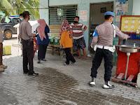 Tim Gempur Covid-19 Polres Sergai Giat Patroli Objek Wisata dan Penyemprotan Disinfektan