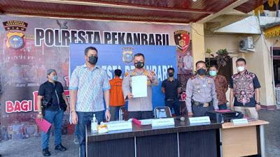 Polisi Ungkap Pemalsuan Surat Swab Palsu di Pekanbaru