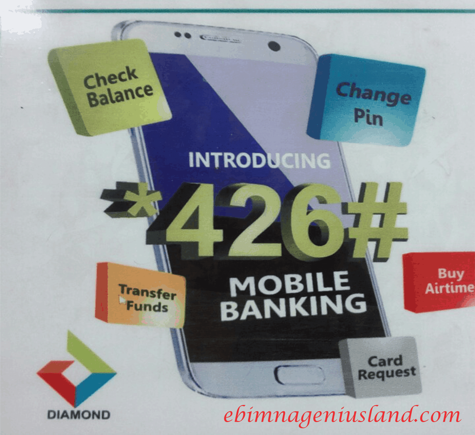 Diamond Bank Has Finally Introduced The Simplest Mobile Banking Code